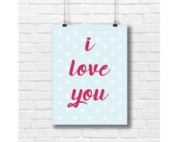 Plakat do pokoju dziecka I love you 5623 - Buy Design