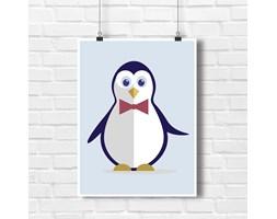 Plakat do dziecięcego pokoju Pingwinek Ważniak 7831 -Buy Design