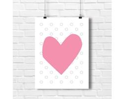 Plakat serce grafika na ściany 4124 - Buy Design