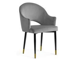 Krzesło GODA szary/ noga czarna gold/ BL14 Bettso
