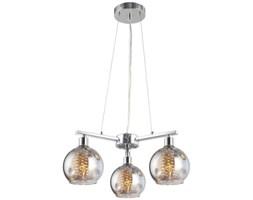 LAMPA wisząca CALIOPE MD2436-3A AUHILON glamour OPRAWA z kryształkami ZWIS szklane kule przezroczyste