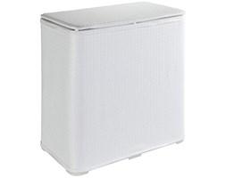 Kosz na pranie z tworzywa sztucznego, elegancki pojemnik z pokrywką - 65 l, 27 x 50 x 49 cm, WENKO