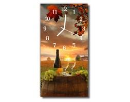 Zegar Szklany Pionowy Kuchnia Wino winogronowe kolorowy