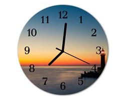 Zegar ścienny okrągły Latarnia morska