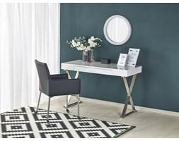 biurko B31 biały-chrom