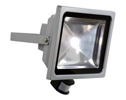 LED FLOOD-Projektor zewnętrzny LED Metal z czujnikiem 50W Wys.26,8cm | -10% z kodem HALO10