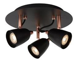 RIDE-LED-Plafon 3 Reflektorki Nastawne Metal Ø25cm