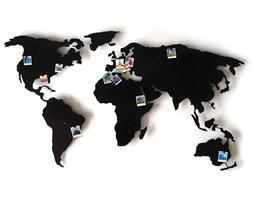 Mapa świata 3D na ścianę
