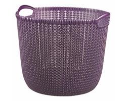 CURVER Kosz do przechowywania L (fioletowy) Knit 229997