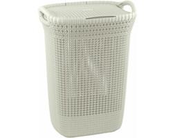CURVER Kosz na pranie 57 l (kremowy) Knit 228391
