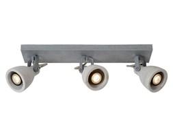 CONCRI-LED-Listwa 3 Reflektorki Nastawne Beton & Metal Dł.48cm