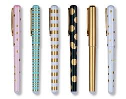 Komplet 6 kolorowych długopisów Tri-Coastal Design Metallics