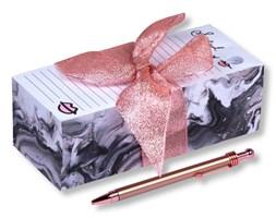 Zestaw notatnika i długopisu Tri-Coastal Marble