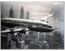 Fotografia Plane Over New York 81x61 cm