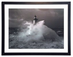 Fotografia w ramie Lighthouse Ar Men 90x70 cm