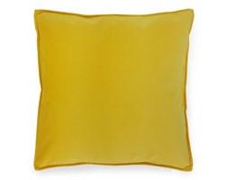 Żółta Poduszka Kwadratowa Ozdobna