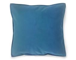Poduszka Kwadratowa Błękitna Niebieska