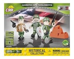 Klocki COBI 2026 Amerykanie - 3 figurki z akcesoriami