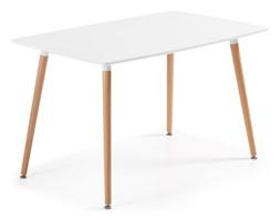 Stół DALGO 140x80cm biały
