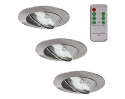 Paulmann 93704 - ZESTAW 3x LED Ściemnialne oświetlenie WELLNESS 3xLED/3W/230V