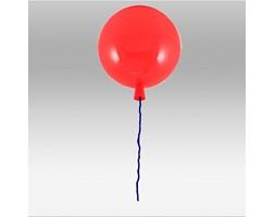 Czerwona lampa sufitowa plafon  balon 3218-1 ozcan lampa dziecięca pokój dla dziecka