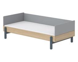 Łóżko niskie 90cm z poręczą tylną JAGODA, Popsicle