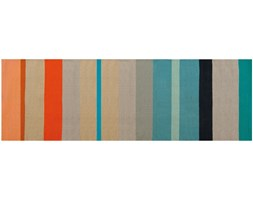 Dywan bawełniany, ręcznie pleciony chodnik w modnej stylistyce idealny do nowoczesnego wnętrza