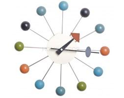 ZEGAR ŚCIENNY KOLOROWY BALL CLOCK NELSON CL-09 DSW BERTRAND