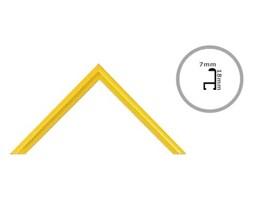 Rama żółta aluminium 158x53 cm Ramy 53x158 cm
