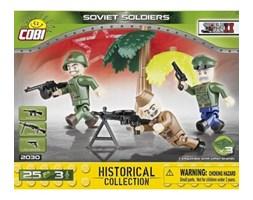 Klocki COBI 2030 Sowieci. 3 figurki z akcesoriami