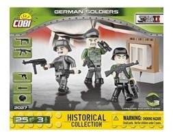 Klocki COBI 2027 Niemcy. 3 figurki z akcesoriami