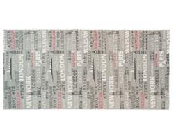 Multidecor Mata Premium szare literki 65 x 130 cm