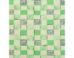 Multidecor Mata Premium zielona kratka 45 x 65 cm