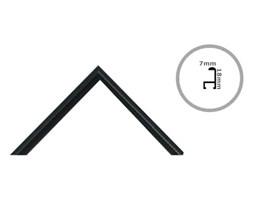 Rama czarna aluminium 50x70 cm Ramy 70x50 cm