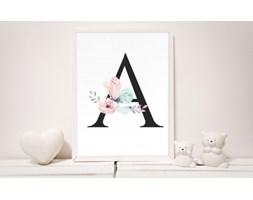 MeowBaby® Plakat do Pokoju Dziecka - Literki Alfabet