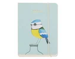 Notes A6 Go Stationery Blue Tit