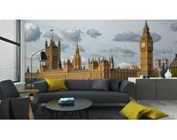 Fototapeta Big Ben I Westminster Bridge W Londynie W Piękny Dzień