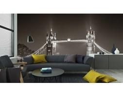 Fototapeta Tower Bridge Nocą W Bieli I Czerni