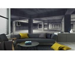 Fototapeta Pusty Streszczenie Ciemne Podziemne Przemysłowe Beton Wnętrza. 3D