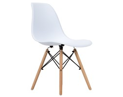 Krzesło skandynawskie FCS Cavo białe