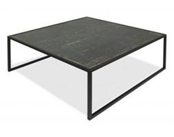 Stolik kawowy kwadratowy Mika  czarny mat gres