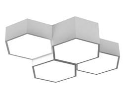 MCODO ::  Minimalistyczny plafon led  FAVO 4 z jedną barwą światła led 4000K, biały 48W