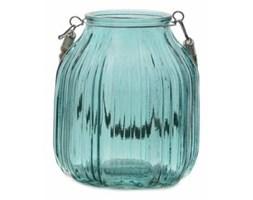 Lampion szklany Havi turkus