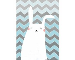 Plakat Funny Bunny nr 1 50x70 cm