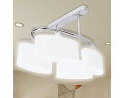 vidaXL Nowoczesna lampa sufitowa, elipsa żarówki 4xE14