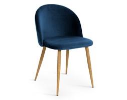Krzesło SONET  niebieskie  aksamit