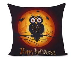 DecoKing – Poszewka dziecięca – Halloween - Sowy, 80x80 cm