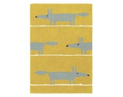 Żółty Dywan Dziecięcy - MR FOX MUSTARD 25306