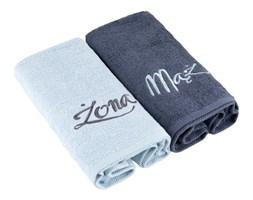 Ręczniki Mąż/Żona Miss Lucy, 2, niebieski