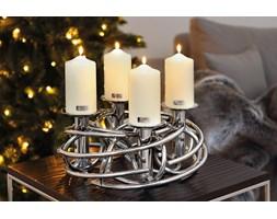 Elegancki świecznik na 4 świece